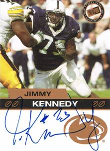 2003 Jimmy Kennedy Press Pass Bronze Rookie Auto Autograph