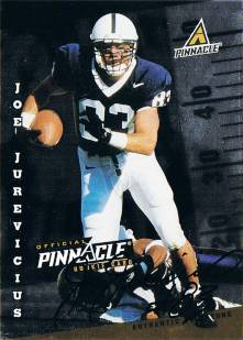 1998 Score Rookie Autographs #20 Joe Jurevicius